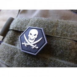 No Fear Pirate Rubber Patch...