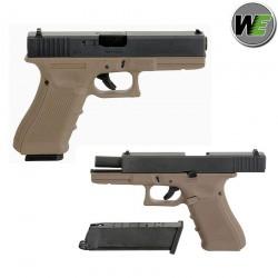 Glock 17 TAN a gas gen4 WE