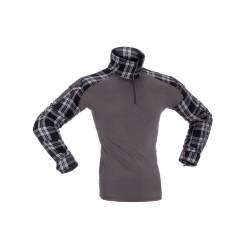 Flannel Combat shirt Black...