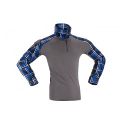 Flannel Combat shirt Blue -...