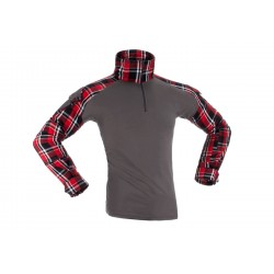 Flannel Combat shirt Red -...