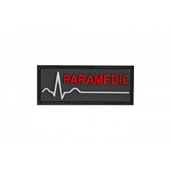Paramedic Rubber Patch Color