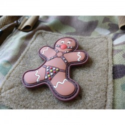 Gingerbread Rubber Patch Color