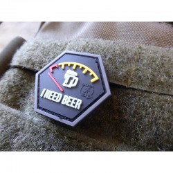 I need Beer Rubber Patch Red