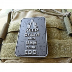Keep Calm EDC Rubber Patch...