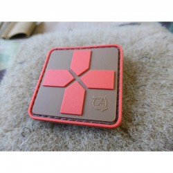 Red Cross Rubber Patch 40mm...