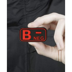 Bloodtype Rubber Patch B...