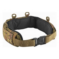 PADDED BELT WITH BRASS...