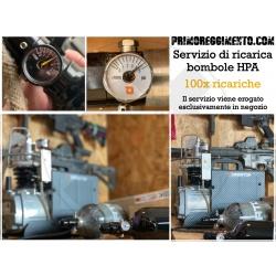 100x Ricariche bombola HPA...