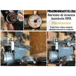 50x Ricariche bombola HPA /...