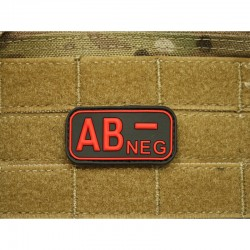 Bloodtype Rubber Patch AB...