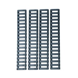 Slot rail cover set 4pz Neri
