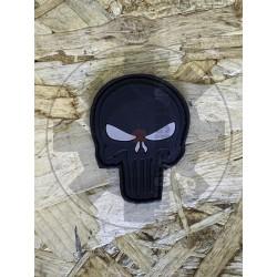 Punisher Black/Grey Patch