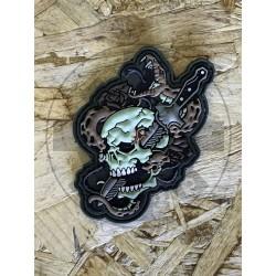 Skull Snake Patch