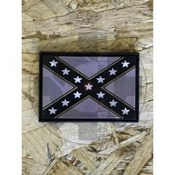 South Flag Black/Tan Patch