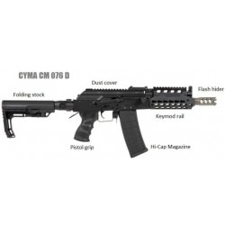 CM076D AK74 Carbine Replica...